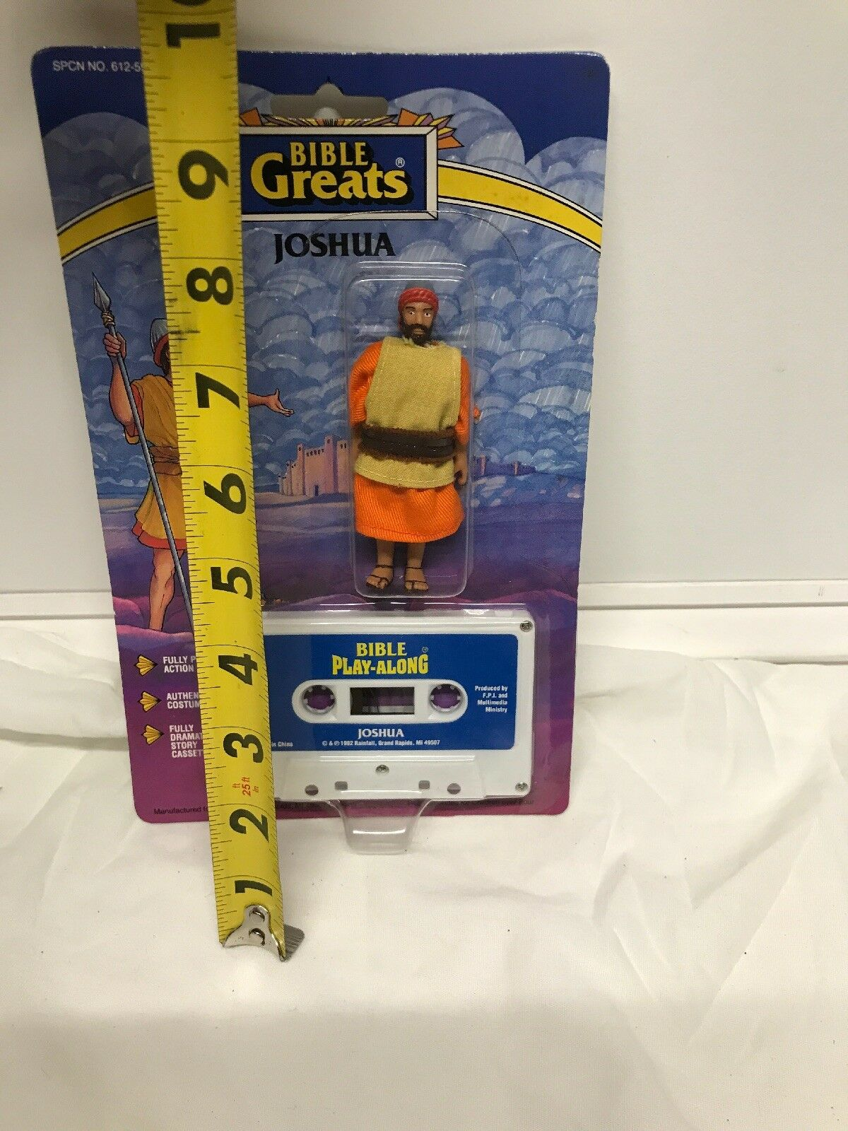 BIBLE GREATS Vintage 1991 Bible Action Figure Joshua Factory Sealed Sealed Sealed Scarce a79ecc