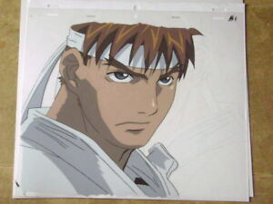 Street Fighter Alpha Zero Ryu Anime Production Cel 6 Ebay