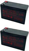 2 Pack / 12v 7ah - Sealed Lead Acid Battery - Sla / 2pk / 2 Pcs / 7.2ah / 8ah