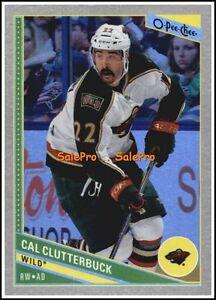 OPC-2013-CAL-CLUTTERBUCK-NHL-MINNESOTA-WILD-RAINBOW-MINT-CARD-112