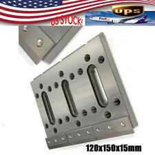 Cnc Wire Edm Fixture Board Stainless Jig Tool For Leveling Clamping 12x15x15cm