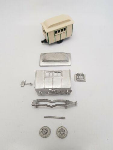 1920s PRE-WAR SMALL CARAVAN OO GAUGE 1//76 4MM METAL KIT WITH SPOKED WHEELS