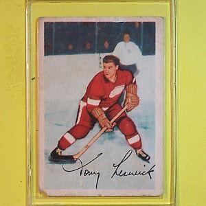 TONY-LESWICK-1953-54-VINTAGE-Parkhurst-43-Detroit-Red-Wings