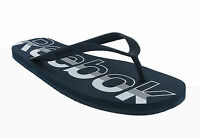 Reebok Hanawi Navy Slide Flip Flops Comfort Beach Mens Sandals Size 7-14 UK