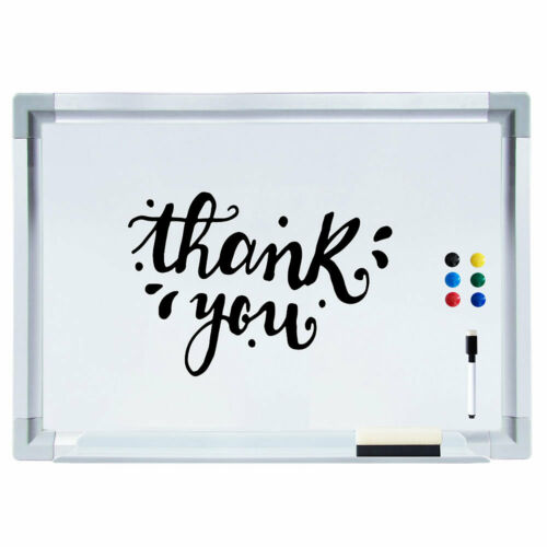 Magnettafel Wandtafel Whiteboard Memoboard Schreibtafel Pinnwand 60 x 40 cm