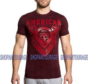American Fighter Woodridge FM6483 Men`s Graphic Fashion T-shirt By Affliction