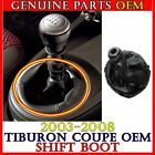 OEM MANUAL SHIFT 5 SPEED LEVER BOOT 1PC For 2003-2008 Tiburon Coupe 84640-2C000