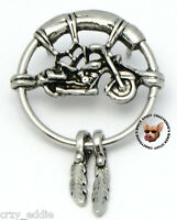 Motorcycle Dream Catcher With Sunglass Holder Made In Usa