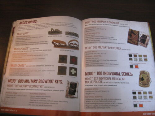 Volume IV 83 Pages New Combat Medical Systems Products Catalog Booklet