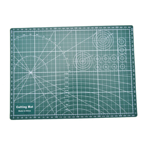 PVC Cutting Mat A4 Durable Self-Healing Cut Pad Patchwork Tools Handmade Plf