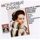 Montserrat Caballé Sings Bellini and Verdi Arias, , Very Good Import