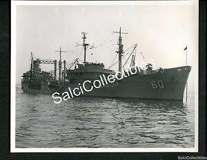 WWII US Navy Fleet Oiler Ship USS AO 60 Nantahala Official