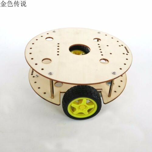 Chassis for R3W4 Robot DIY Remote Control Car Creative Puzzle Model Self-made