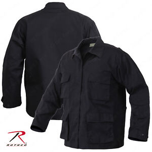 Rothco 6350 Black Tactical BDU Shirt