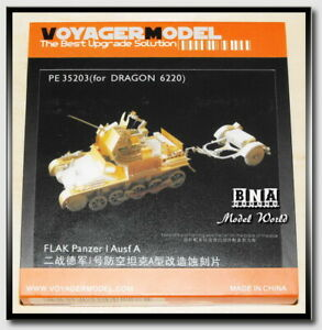 Voyager-PE35203-1-35-Flakvierling-Panzer-I-Ausf-A-Upgrade-Set-for-Dragon-6220