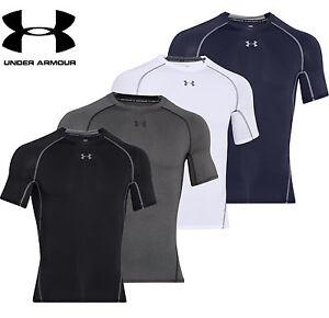 Hospitalier Under Armour Men's Ua Heatgear Armour Compression T Shirt 1257468 New-afficher Le Titre D'origine