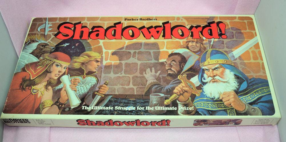 Jahrgang 1983 shadowlord d & d - brettspiel scifi