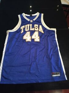 newest 51a7f 6a0f4 Details about Game Worn Used Tulsa Golden Hurricane Basketball Jersey #44  Size 3XL Cardwell