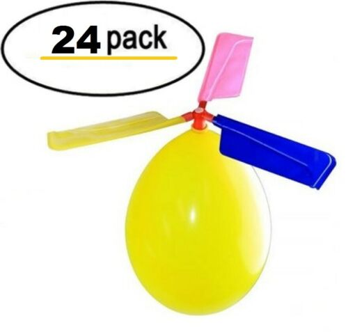 24 Pack Balloon Helicopter Kids Outdoor toys Party Favor stocking suffers!