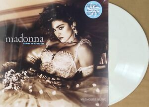 MADONNA-LP-Like-A-Virgin-WHITE-Vinyl-LIMITED-EDITION-2018-New-SEALED-140g-Stkr