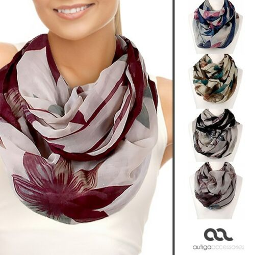 Écharpe tube Loop écharpe Infinity écharpe tube Femmes Foulard écharpe foulard