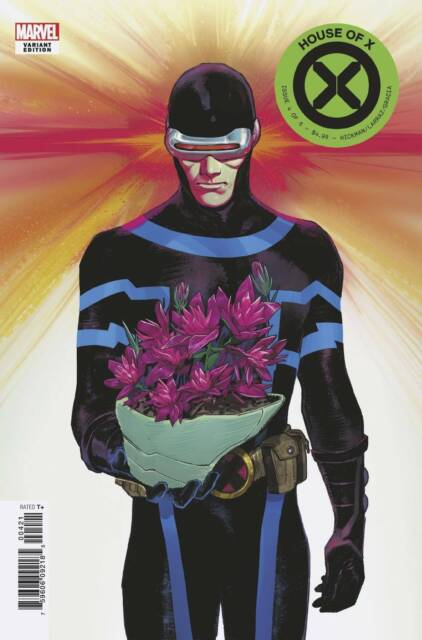 HOUSE OF X #4 (OF 6) PICHELLI FLOWER VARIANT BY MARVEL COMICS! 1ST PRINT!