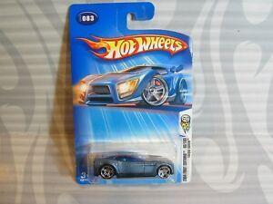Modellbau 0715 Zielstrebig 2004 Hot Wheels ''erste Editionen'' #083 =drehmoment Schraube= Blau Pr5