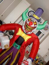 KILLER CLOWN Airblown INFLATABLE HALLOWEEN YARD PROP. SCARY CLOWN. NEW.