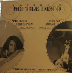 Diana Ross Thelma Houston Motowns Double Disco 12 By Each