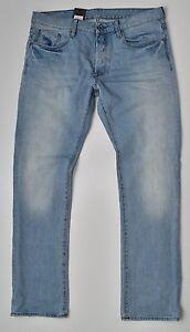899f16f2c4e6 G-Star Raw, 3301 Slim Straight W36 L32, Jeans Light Aged Wisk Denim ...