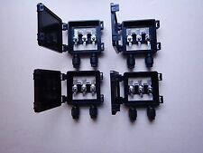 Four-4 Solar panel junction box solar cells diy 3x6 6x6 waterproof 10 amp diodes