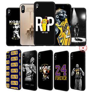 Kobe-Bryant-Love-24-8-Soft-TPU-Case-for-iPhone-11-Pro-Xr-X-XS-Max-8-7-6-6s-Plus
