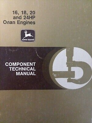 ONAN 2 /& 4 CYLE Engines SERVICE MANUAL 316 318 420 HP Shop Repair T260 F930 CD