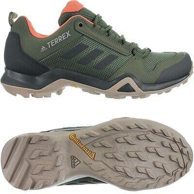 Adidas Terrex AX3 W khaki Women's walking shoes trekking running outdoor NEW | eBay