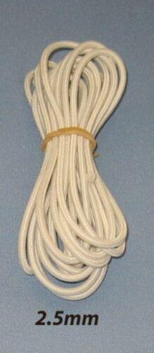 2.5 mm Bambola Stringing CORDA ELASTICA X 3 metri-Qualità Professionale