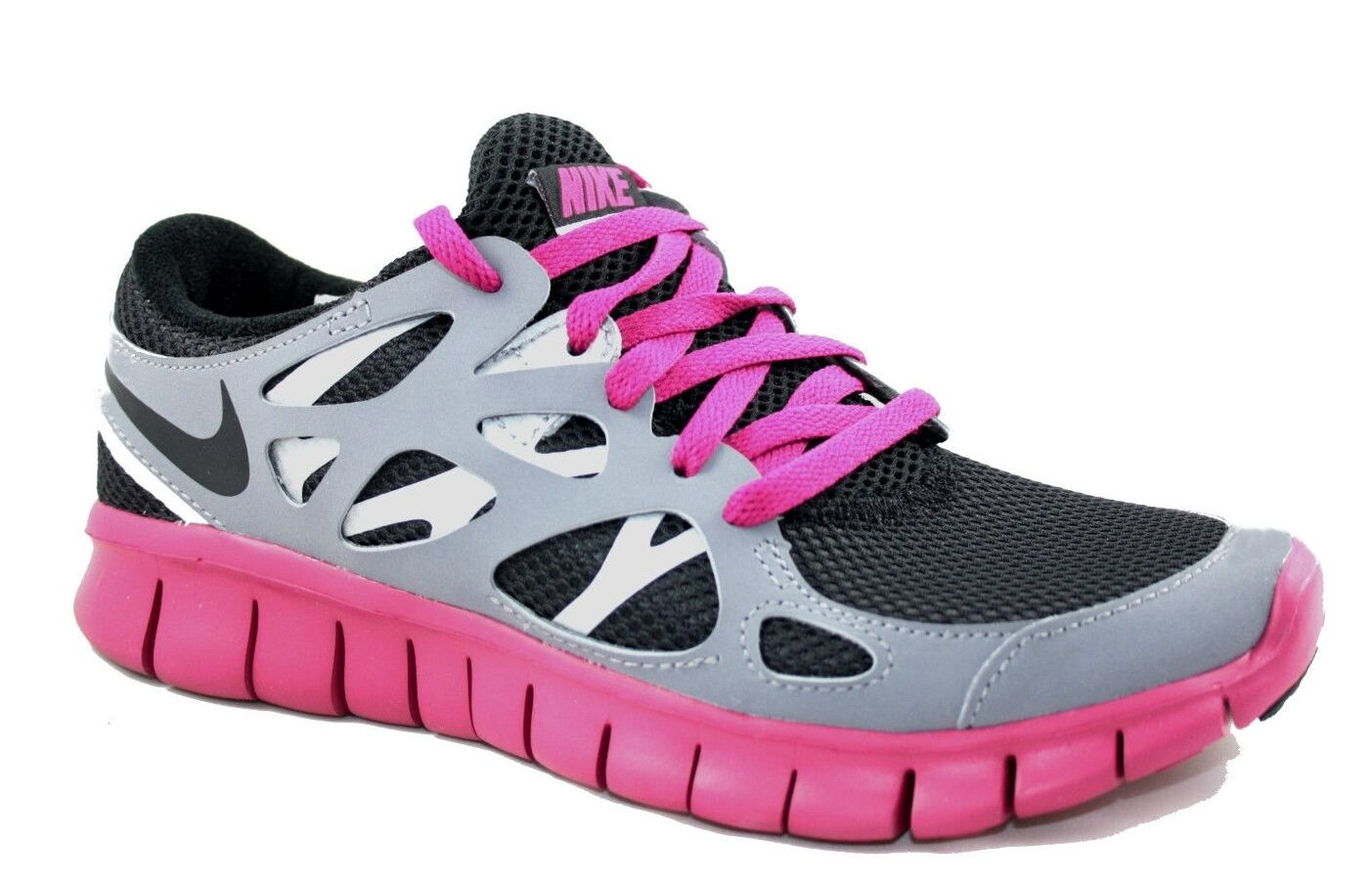 NIKE Free Run + 2 EXT Scarpe da corsa da donna Scarpe fitness leggeri scarpe da ginnastica Tg. 35
