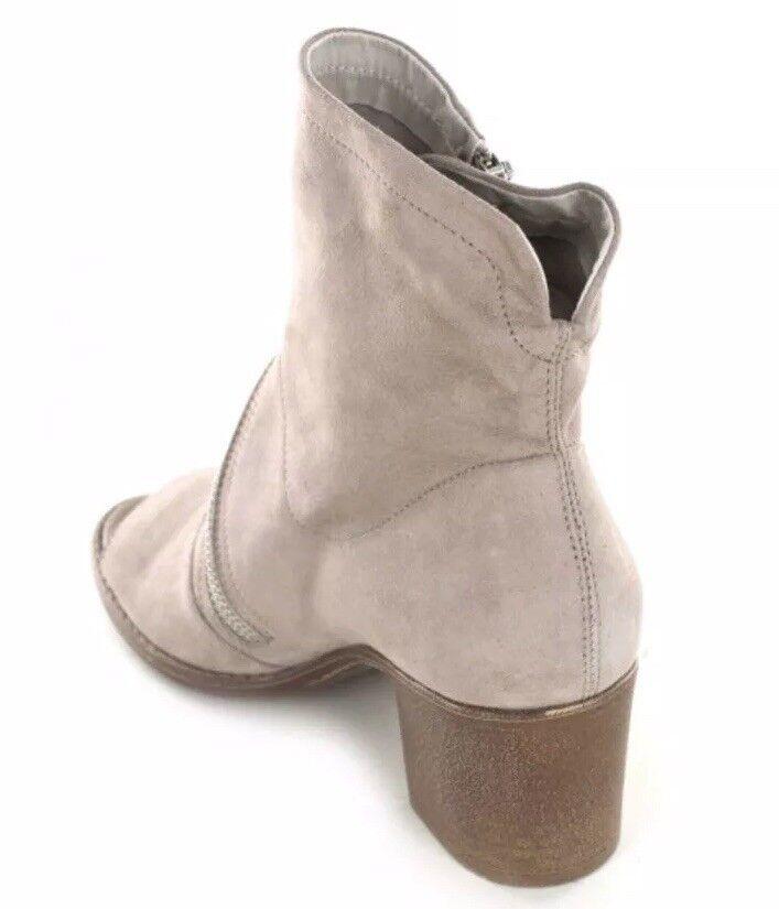 Nuevo  por 149 cumbre por  blanco Mountain Fantasia Desierto Gamuza Puntera Abierta botas Tacones 39 da099c