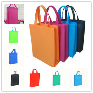 Image is loading wholesale-Non-woven-Shopping-Bag-Reusable-Tote-Folding- 0f0d66950d