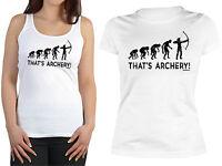 Bogenschützen Damen Shirt Sportschützen Bekleidung Frauen Bogensport Motiv