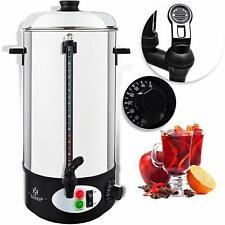 KESSER Glühweinkessel 8L Glühweinkocher Edelstahl Thermostat Wasserkocher wein