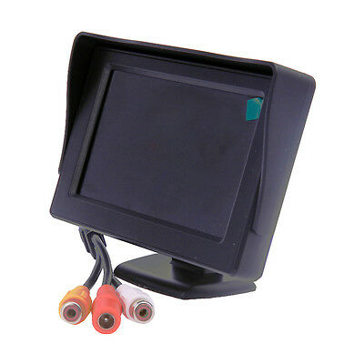 NEW 4.3''LCD TFT Rearview Rear view Color Monitor screen for Car Backup Camera