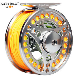 Fly-Fishing-Reel-with-Line-Combo-3-4-5-6-7-8-9-10WT-CNC-Machined-Fly-Reel-kit
