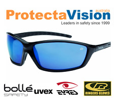 Brand New Bolle Prowler - Blue Flash Safety Glasses - Sunglasses
