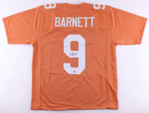 a758a96f36d Image is loading Derek-Barnett-Signed-Tennessee-Volunteers-Jersey-Fiterman- Eagles-