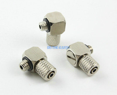 40 Pcs M5-4mm Straight Pneumatic Pipe Air Hose Quick Fitting Mini Connector