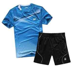Yonex Badminton Shirt & Shorts - Cool Sportswear Top Sports Clothing - UK Stock