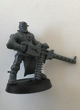 Chaos Cultist With Heavy Stubber unpainted new plastic model
