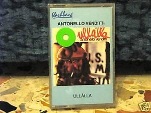 ANTONELLO-VENDITTI-ULLALLA-MC-SIGILLATA-ORIGINALE-timbro-SIAE-a-secco