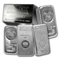 1 kilo Silver Bar - Mint Varies - SKU #75361