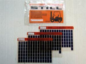 Still-R-07-20-Elektro-Schlepper-Ersatzteilliste-Parts-Book-Microfiche-1988